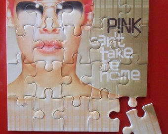 Pink Can't Take Me Home CD Cover Magnetic Puzzle