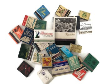 Vintage Matchbook Lot Matchbooks Old Hotels Match Book Collection Beaches Tobacciana Biltmore California Matchbook Instant Collection