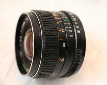 Super Paragon 28mm F2.8 M42 Wide angle Camera Lens Very good order.