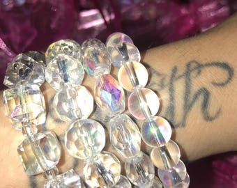 Angel GlassBead Bracelets