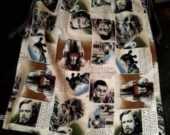 Star wars patterned laundry bag