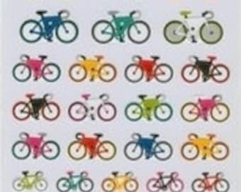 """SALE Bicycle stickers by """"Mind Wave"""" of Japan"""
