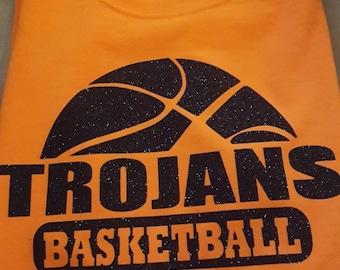 Trojans Basketball shirt