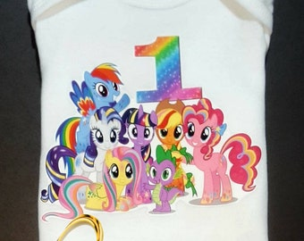 My little pony shirt only, my little pony top, my little pony birthday top, my little pony shirt, my little pony birthday shirt,