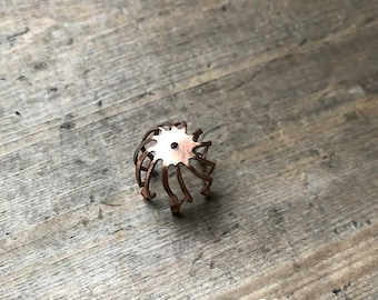 Rose Gold Cage  - DIY JEWELRY
