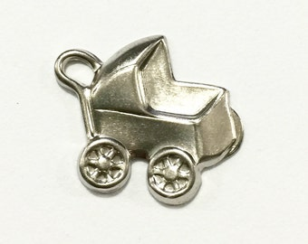 Metal Baby Carriage Embellishment (12 pcs)