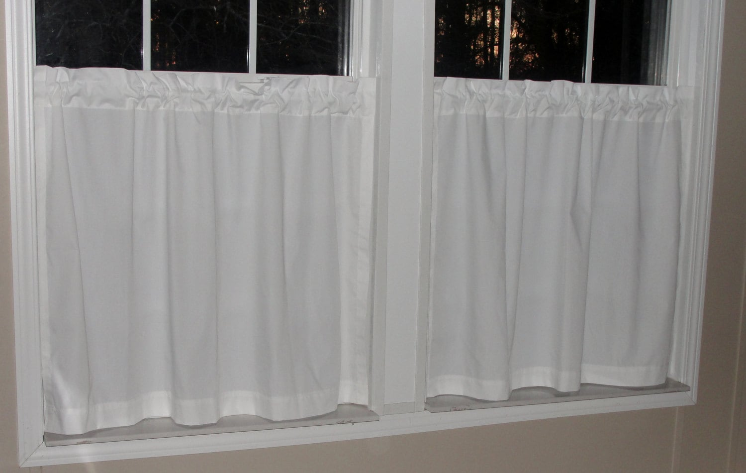 cafe curtain pin curtains crochet walmart valances kitchen