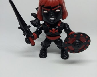 He-Man Masters of the Universe Anti-Eternia v1 Heman Custom The Loyal Subjects Vinyl Figure HM MOTU