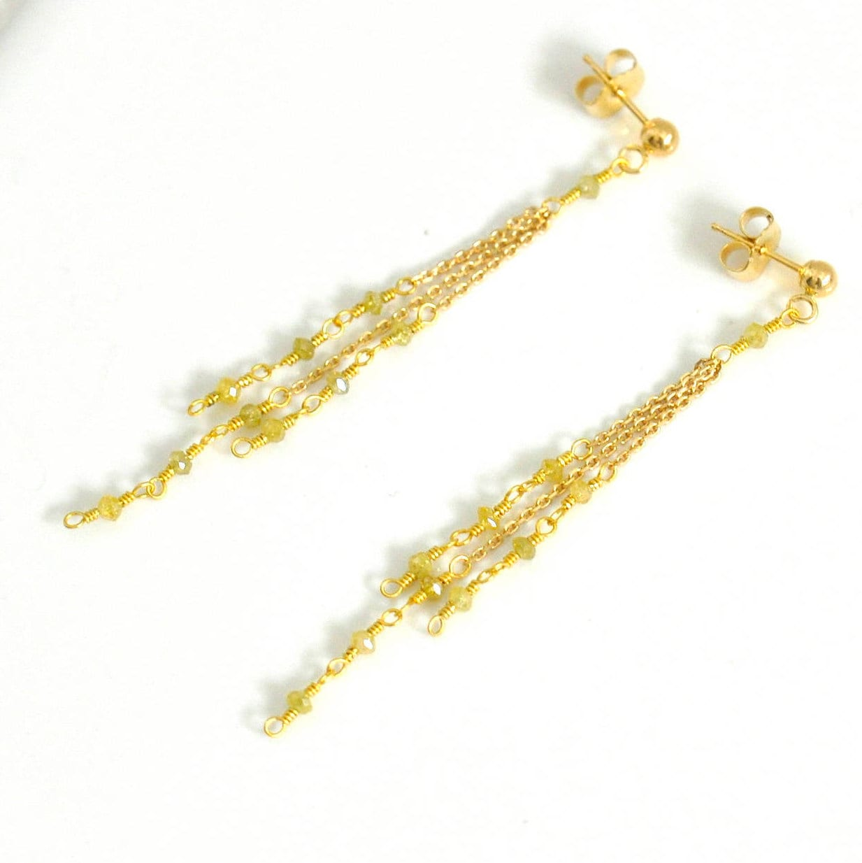 original misskukie by gold tear drop earrings stud delicate product