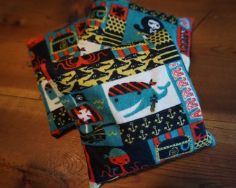Boo Boo Bag//Pirates//Lavender and Rice//Gifts for Kids