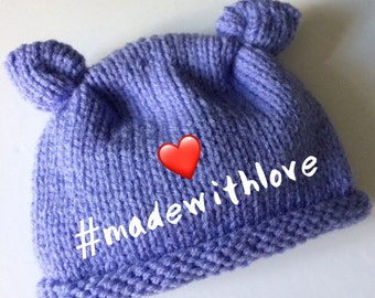 KNITTING PATTERN PDF - Made with Love