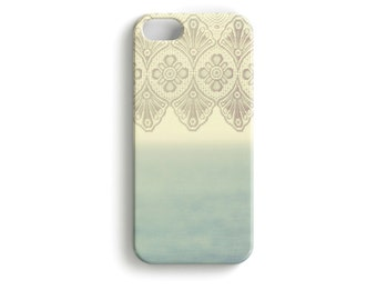 "phone Case ""Room with A View"" Lace Curtain"