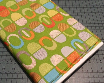 Sale - Mod-Century half pods fabric - three variations