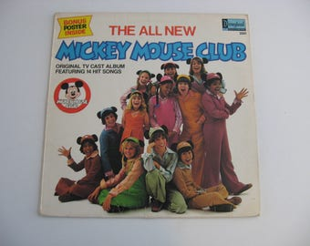 Walt Disney - The All New Mickey Mouse Club - Circa 1977