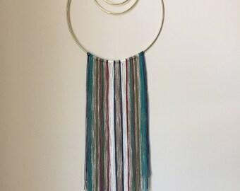 Medium Mixed Fiber Modern Wall Hanging - Alabama Whitman