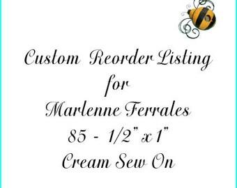 Custom Reorder Listing for Marlenne Ferrales