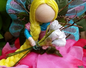 Made to order handcrafted fairy dolls