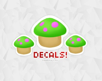 Teemo Shroom Decal - League of Legends