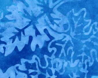 "29"" REMNANT Season's Balis - Falling Leaves in Glacier Blue - Cotton Quilt Fabric - Benartex Fabrics - SKU 1972-52 (W1069)"