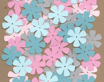 55 1.5 inch flowers Dreamy Cricut Die Cuts