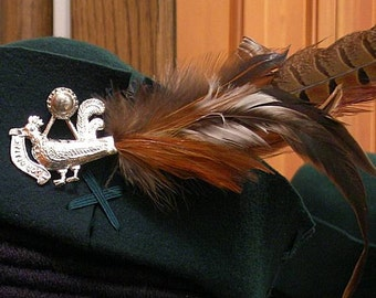 Cocky Rooster Badge - Loke on Me Cockrel - Hat Accessory - SCA Robin Hood
