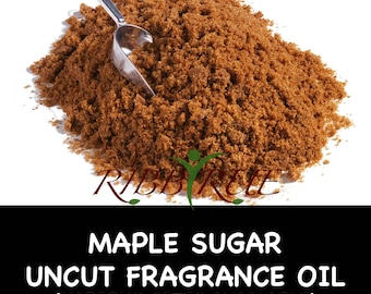 Pure Maple Sugar Uncut Fragrance Oil - FREE SHIPPING SHIP