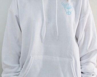 gesture hoodie