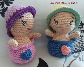 Bobby and Babette crochet