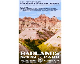 SOUTH DAKOTA SPECIAL!! Badlands & Wind Cave National Parks + Mount Rushmore National Memorial -- at a special, low price!