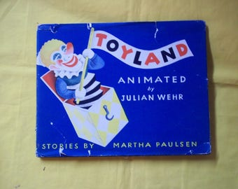 Toyland, an Animated Book by Martha Paulsen, animations by Julian Wehr
