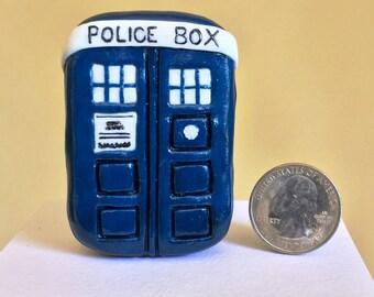 Pocket Universe - Tiny Tardis - It's Bigger on the Inside - Tardis Tin - Ring Box - Engagement Ring Box - Pocket Tardis