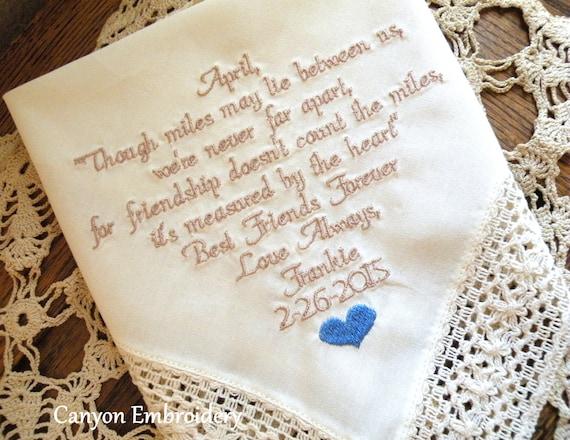 Favorite Wedding Gifts: Best Friend Wedding Gift Personalized Best Friend Gift