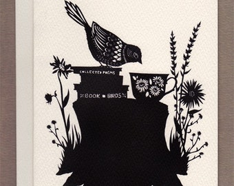 Book of Birds - Greeting Card