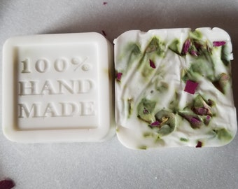 Handmade Rose Scented Goats milk soap