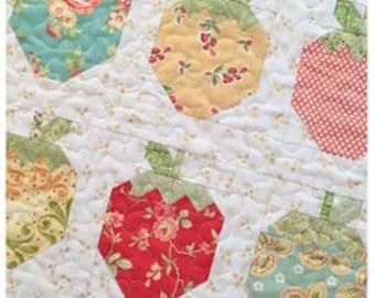 "Strawberry Social Mini by The Pattern Basket, TPB 1606, 22""x19"""
