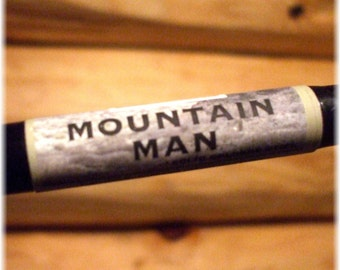 Solid COLOGNE - MOUNTAIN MAN - manly, woodsy scent by Man Cave Soapworks .99 shipping