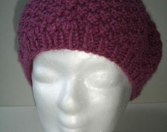 Benutzerdefinierte Hermine inspiriert lila stricken Hut