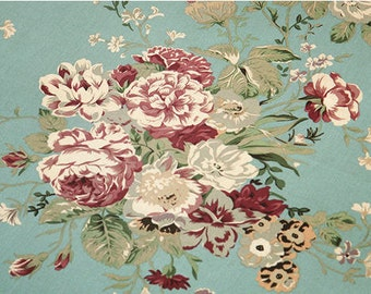 Vintage Roses Cotton Fabric - By the Yard 54387