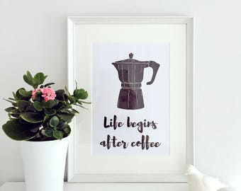 Gift for Him - Coffee - Home Decor - Gift for Mum - Gift for Wife - Gift for Her - Housewarming Gift - Gift for Husband - Birthday Gift