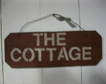 Sign: The Cottage
