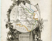 1823 Perrot Map of Girond...