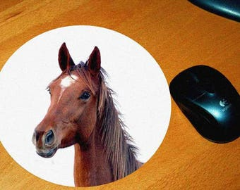 Model horse 3 mouse pad