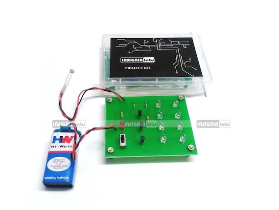 LDR Sensor based Street Light Control DIY School College Electronic ...