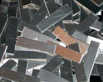 Aluminum Tags - 22 Gauge, stamping blanks, metal blanks, aluminum tags, aluminum stamping bars, hypo-allergenic, food safe, Bopper