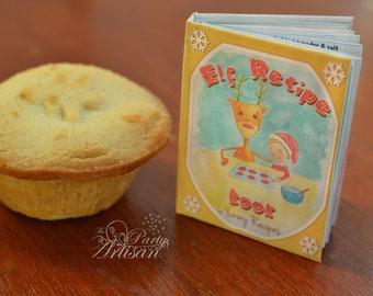 Elf miniature recipe book!