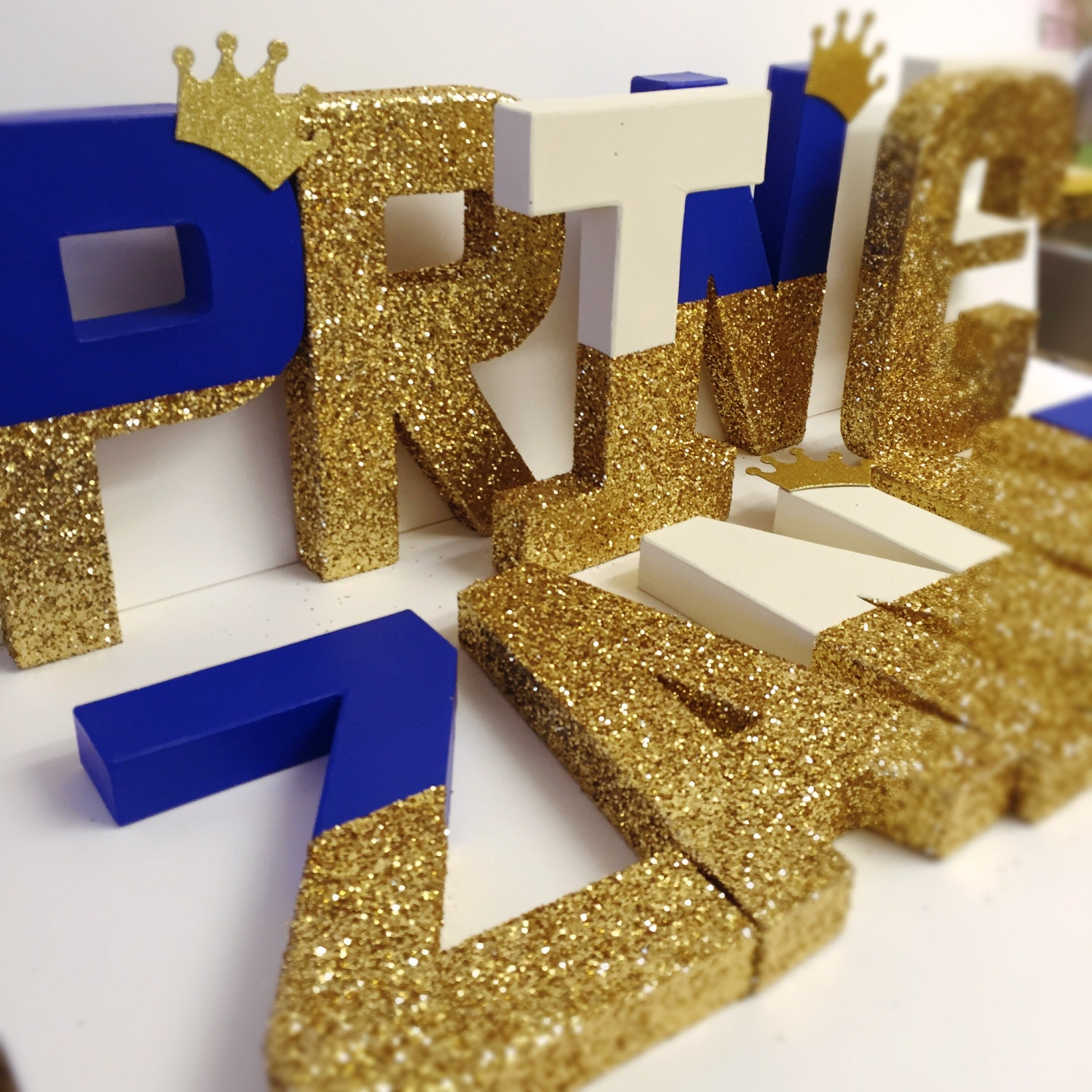King crown letters royal crown royal glitter letter gold