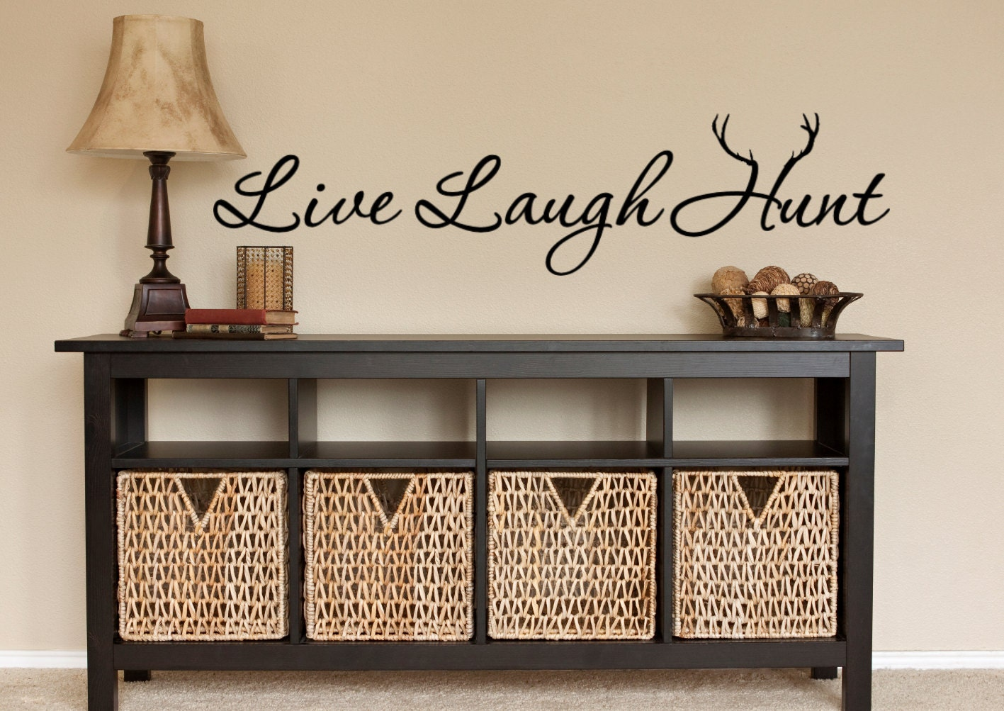 Live Laugh Love Wall Decor Hunting Wall Decal Hunt Hunting Decor Live Laugh Hunt