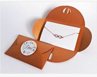 Infinity Bracelet ROSÉGOLD // COPPER Packaging