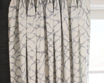 Jeffrey Alan Marks for Kravet Drapes in Waterpolo (shown in Cloud-comes in 4 colors)