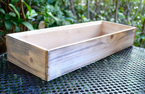 Wooden Box Planter Only ~ DIY ~ Build Your Own Miniature Garden ~ Fairy Garden  Box ~ Wood Planter ~ Fairy Garden Supplies ~ Box Only From ...